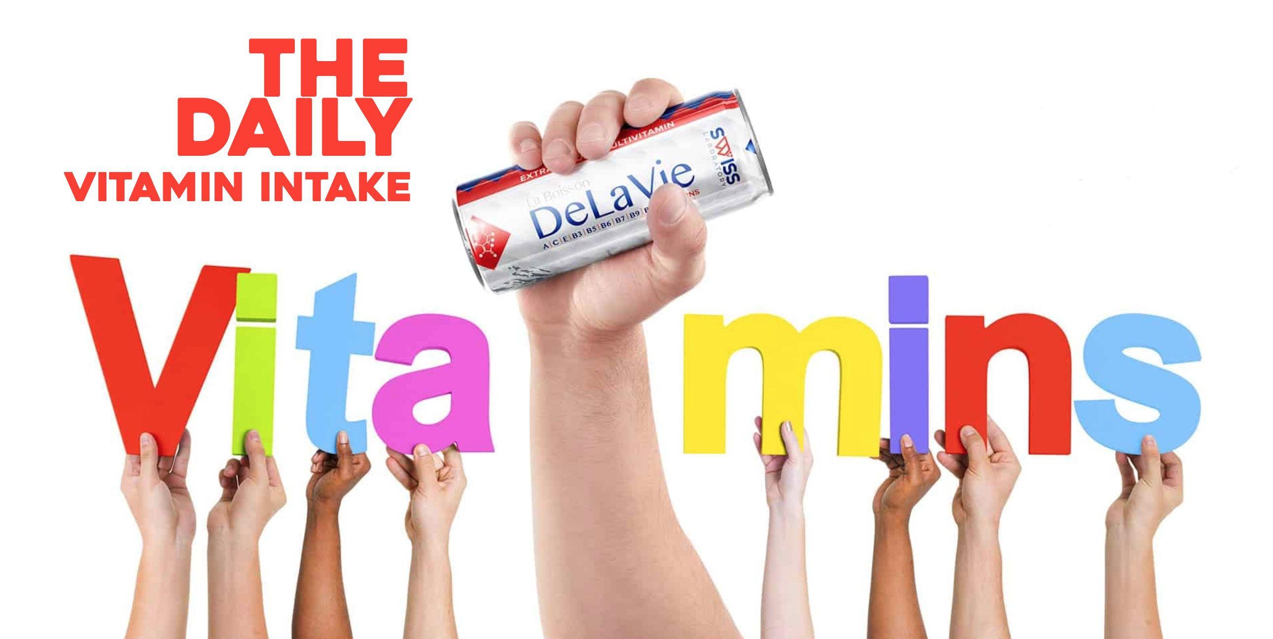 DeLaVie Swiss bevande vitaminiche hands