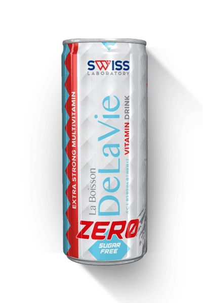 DeLaVie Swiss bevande vitaminiche sugar-free