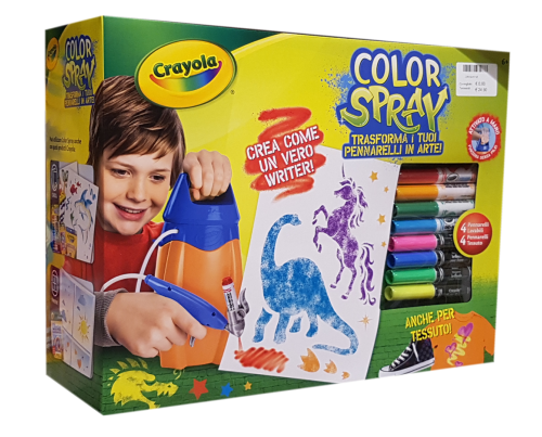 Crayola giochi creativi color-spray