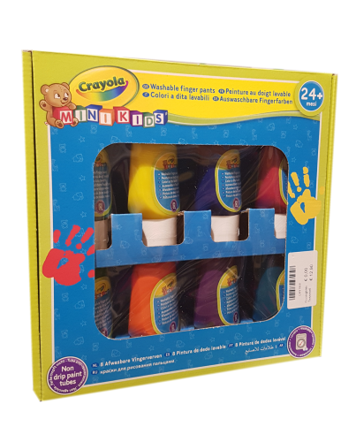 Crayola giochi creativi colori-dita-lavabili