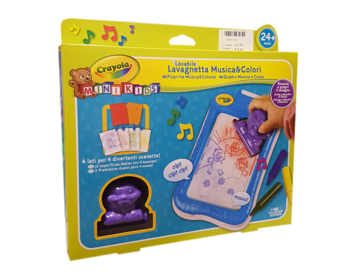 Crayola giochi creativi lavagnetta-musica
