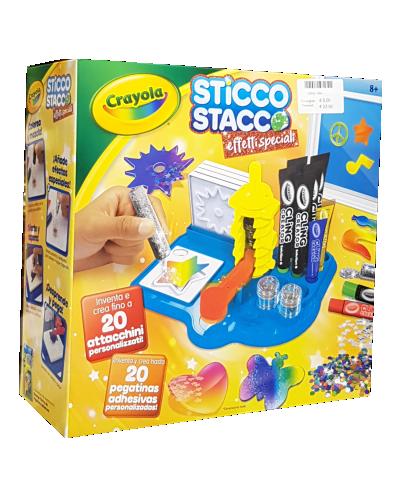 Crayola giochi creativi sticco-stacco