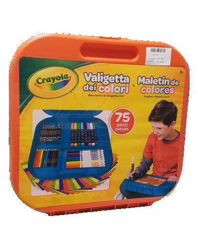 Crayola giochi creativi valigetta-dei-colori