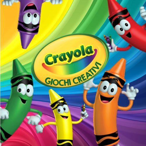 Crayola giochi creativi cover