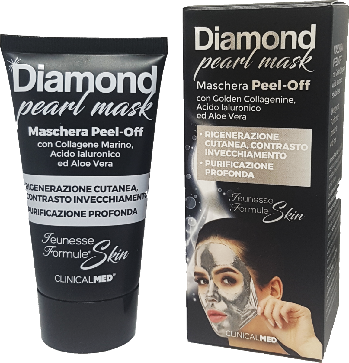 ClinicalMED maschera anti-age Diamond pearl-mask