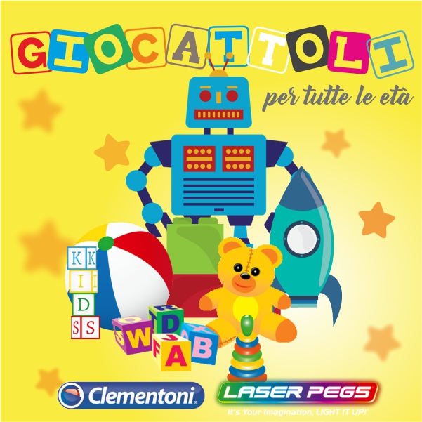 Giochi Clementoni Laser Pegs cover