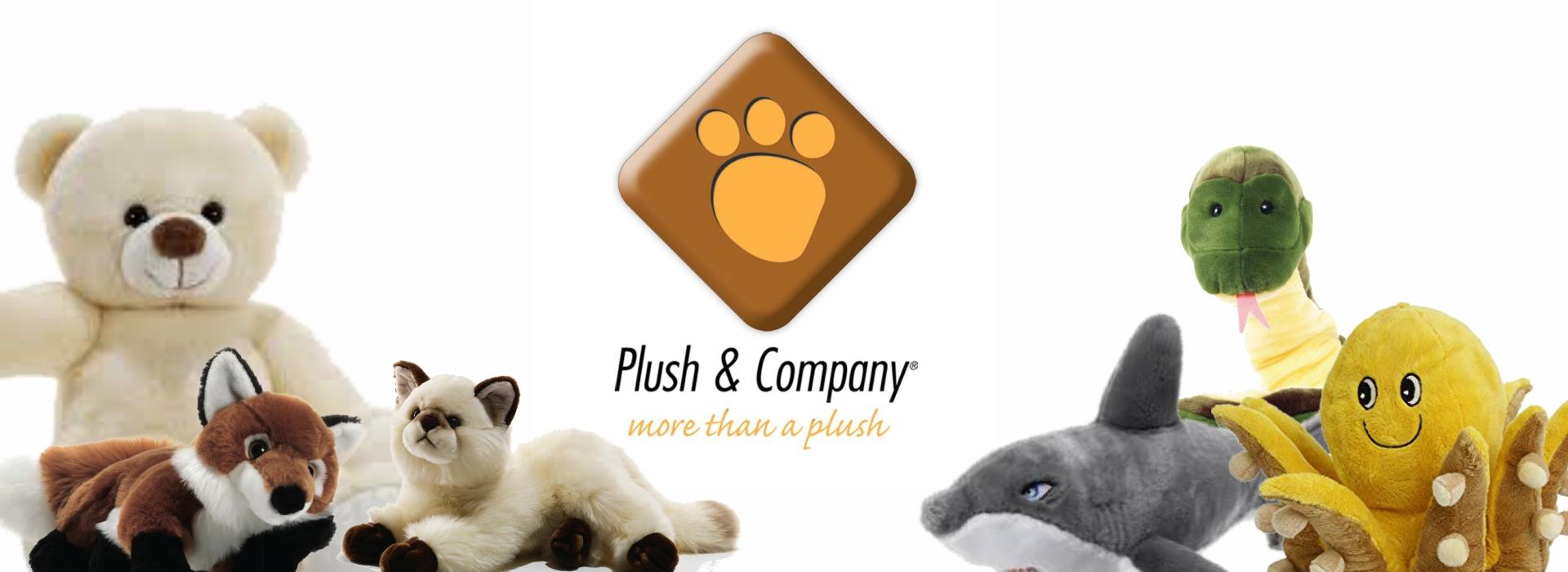 Plush & Company animali di peluche