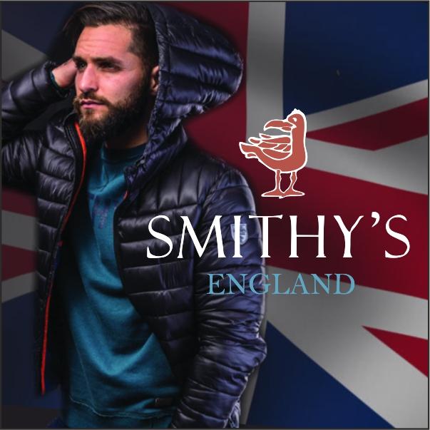 Smithy's England abbigliamento uomo cover