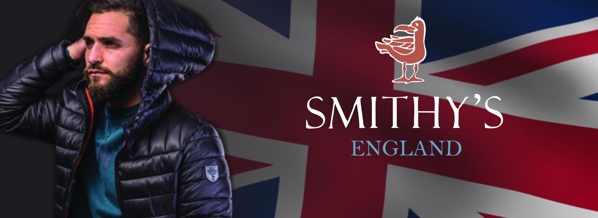 Smithy's England abbigliamento uomo
