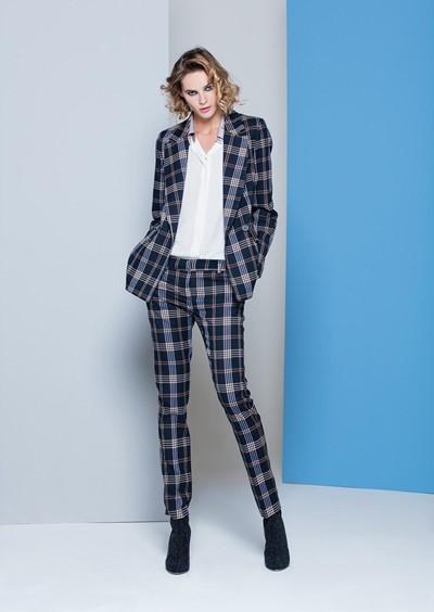 Operà Fashion Autunno-Inverno 2018 giacca pantalone quadri