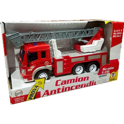 Giocattoli di Natale camion-antincendio