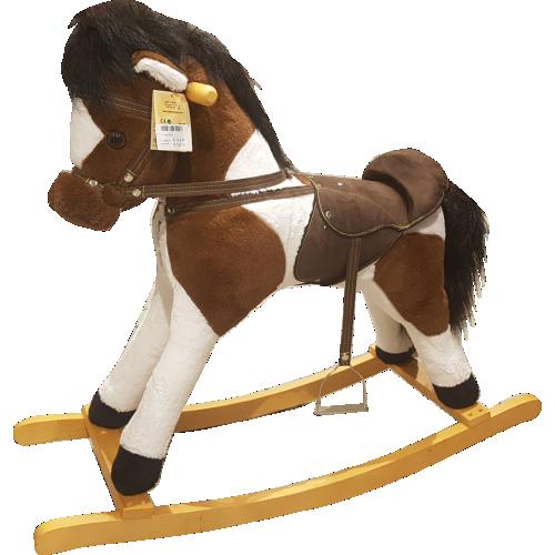 Giocattoli di Natale cavallo-a-dondolo