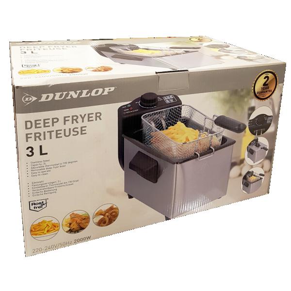 Dunlop piccoli elettrodomestici friggitrice
