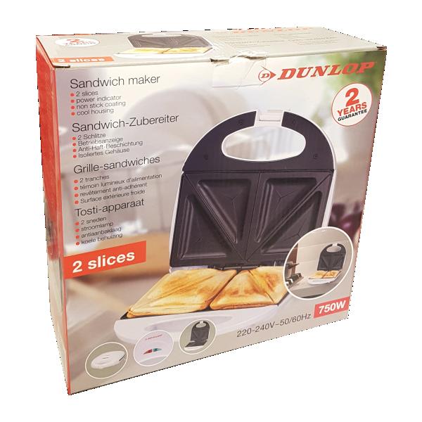 Dunlop piccoli elettrodomestici toastiera