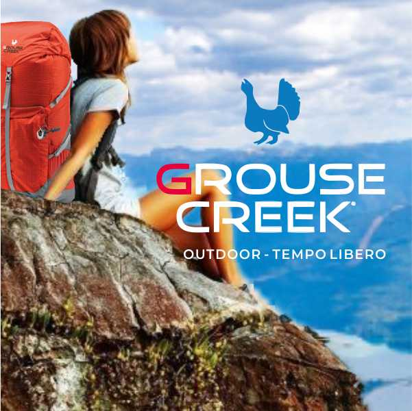 Grouse Creek, calzature e abbigliamento per l'outdoor cover