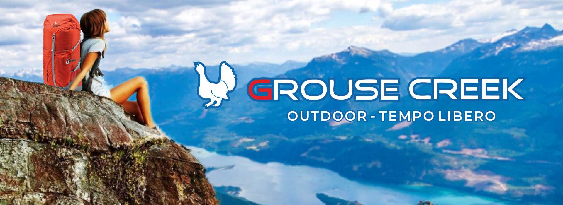 Grouse Creek, calzature e abbigliamento per l'outdoor