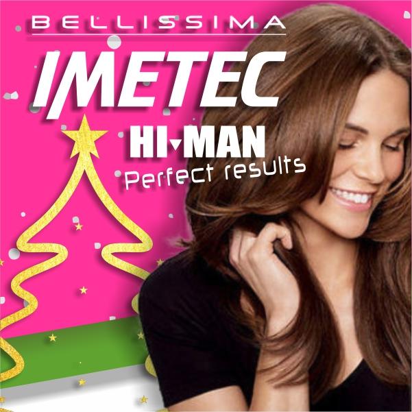 Imetec Bellissima donna e Hi-Man uomo cover