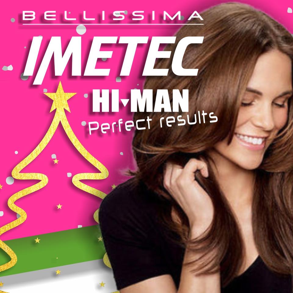 Imetec Bellissima donna e Hi-Man uomo mob