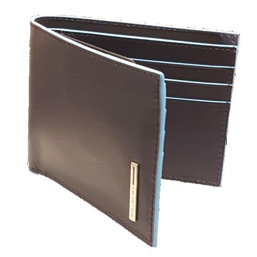 Piquadro portafogli uomo orizzontale-porta-bancomat-carte