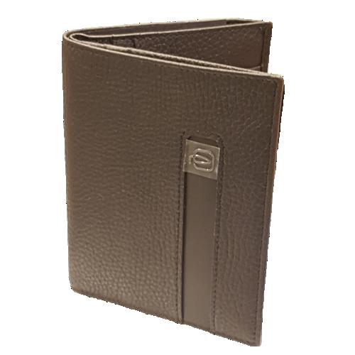 Piquadro portafogli uomo verticale-porta-bancomat-carte