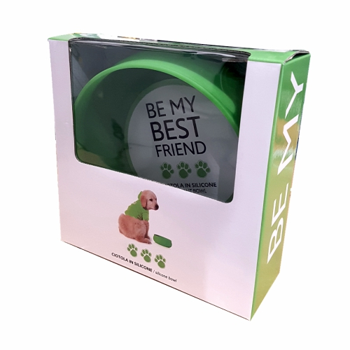 Dog and Cat selection prodotti per animali be-my-best-friend-green-ciotola