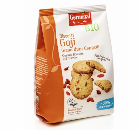 Germinal Bio prodotti biologici biscotti-goji-grano-duro-cappelli