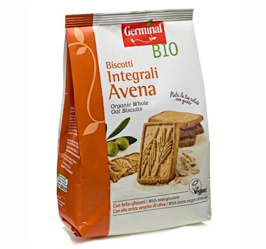 Germinal Bio prodotti biologici biscotti-integrali-avena