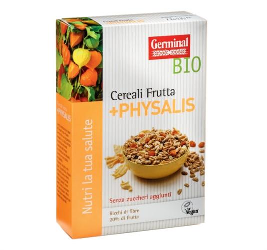 Germinal Bio prodotti biologici cereali-frutta-physalis