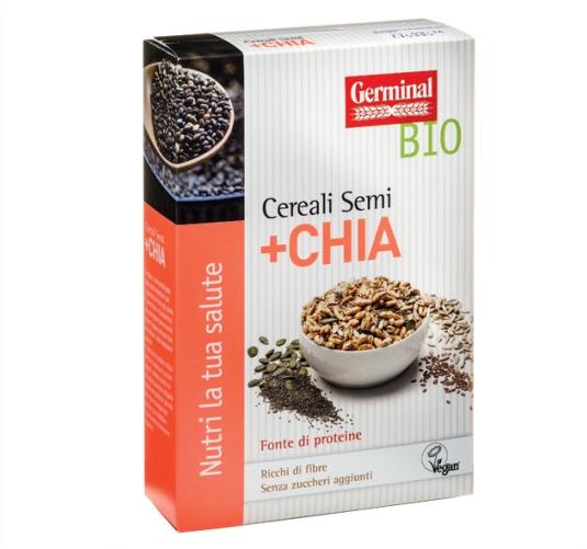 Germinal Bio prodotti biologici cereali-semi-chia