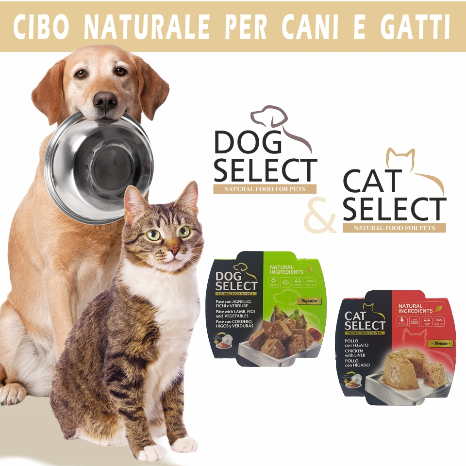 Dog and Cat selection prodotti per animali mob