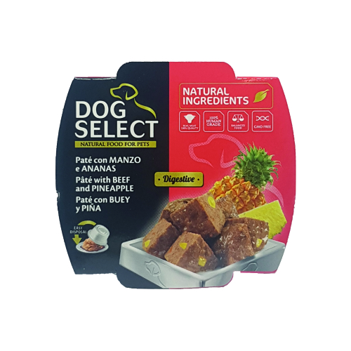 Dog and Cat selection prodotti per animal dogselect-manzo-ananas