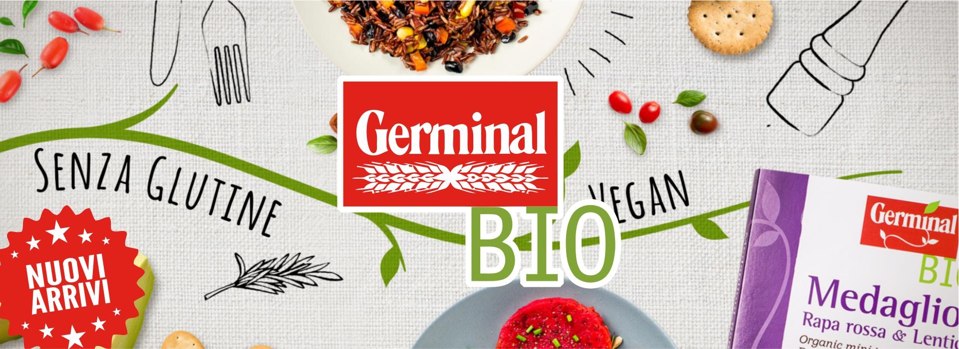 Germinal Bio prodotti biologici nuovi-arrivi