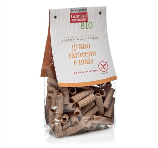 Germinal Bio prodotti biologici mezze-maniche-grano-saraceno-mais-senza-glutine
