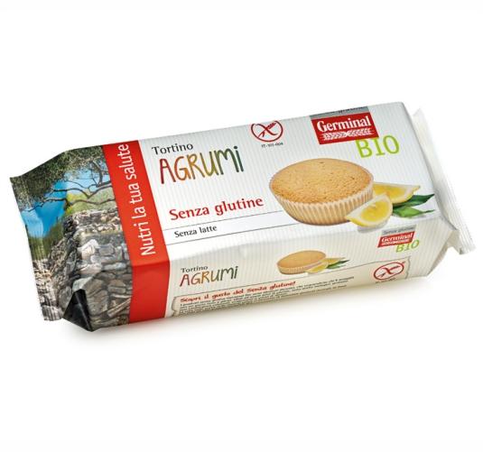 Germinal Bio prodotti biologici tortino-agrumi