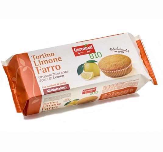 Germinal Bio prodotti biologici tortino-limone-farro