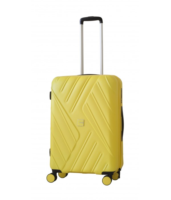 Ravizzoni trolley per viaggiare meglio Mojito Trolley Misura media 66x42x25 GIALLO - TROLLEY RIGIDI