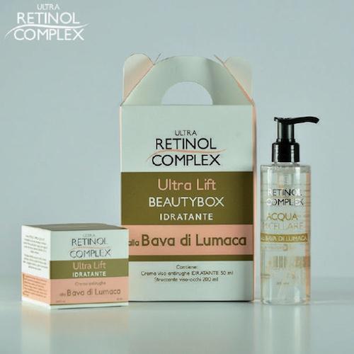 Retinol Complex prodotti di bellezza -box-bava-lumaca