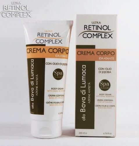 Retinol Complex prodotti di bellezza-crema-corpo-idratante-bava-lumaca