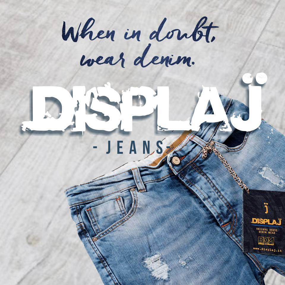 Display Jeans donna e uomo NEW mob