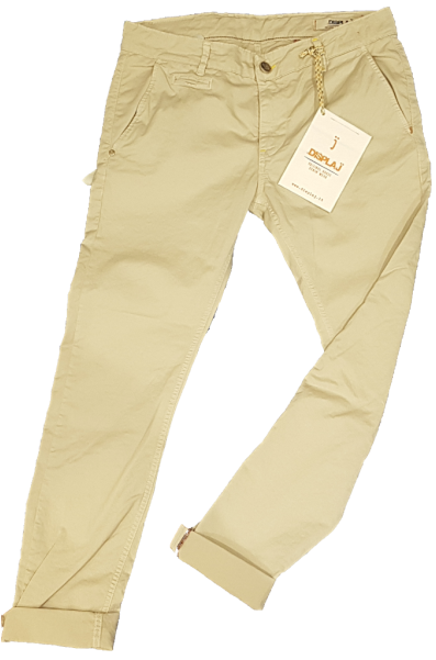 Display Jeans donna e uomo NEW-pantaloni-cream-uomo