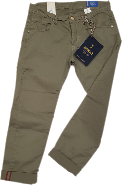 Display Jeans donna e uomo NEW-pantaloni-verdi-uomo
