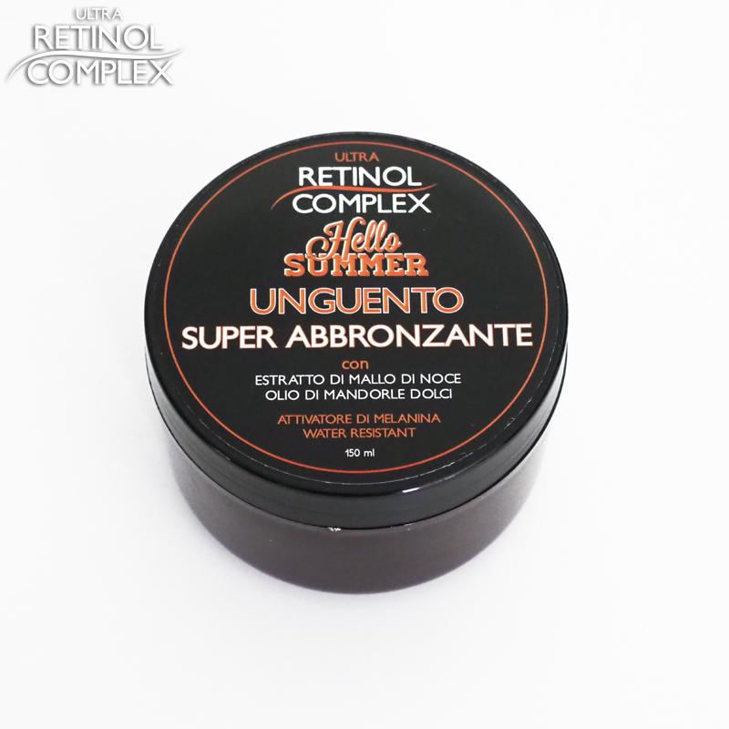 Retinol Complex prodotti di bellezza unguento super abbronzante