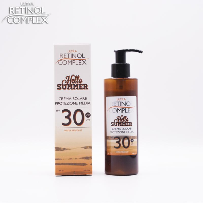 Retinol Complex prodotti di bellezza crema solare protezione 30