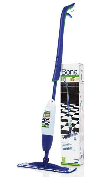 Bona la bellezza dei pavimenti spraymop per laminati e pavimenti