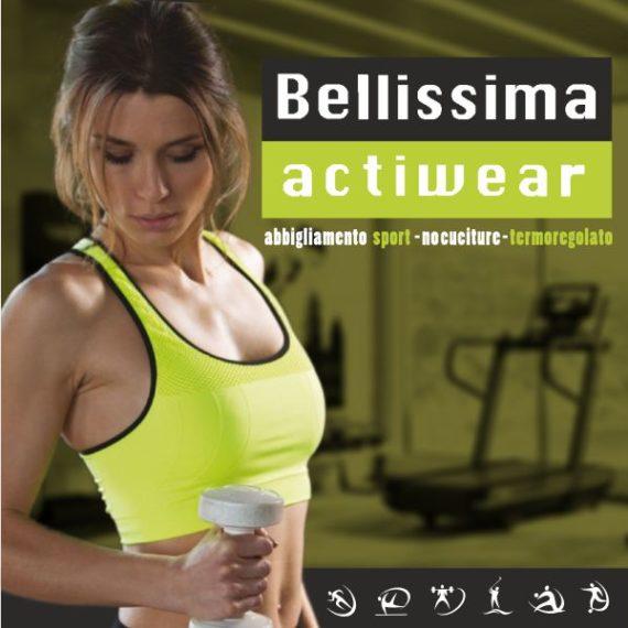 Bellissima Actiwear abbigliamento polisport cover