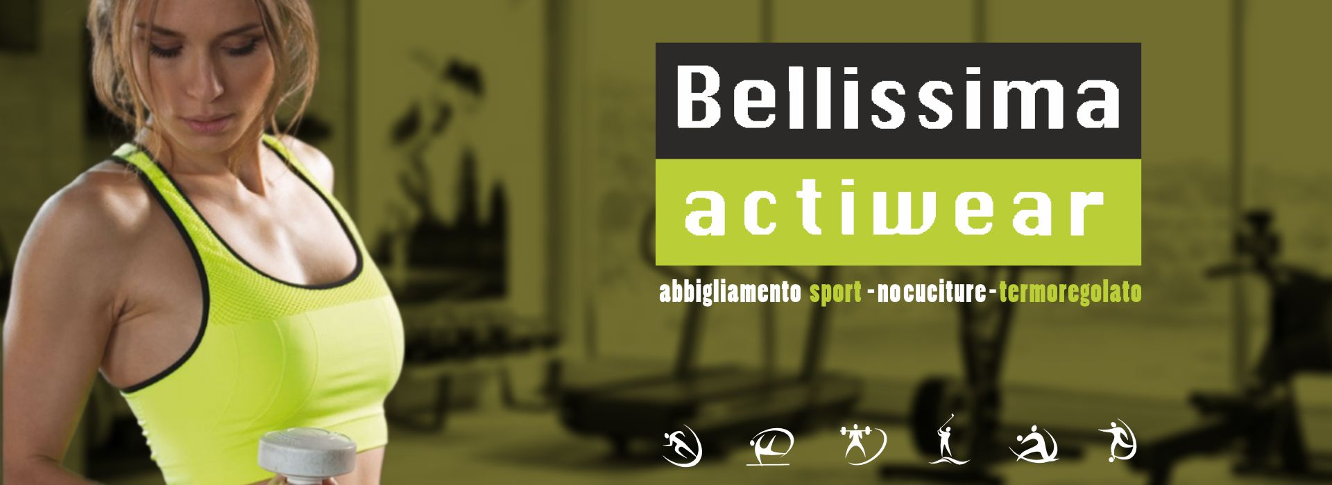 Bellissima Actiwear abbigliamento polisport
