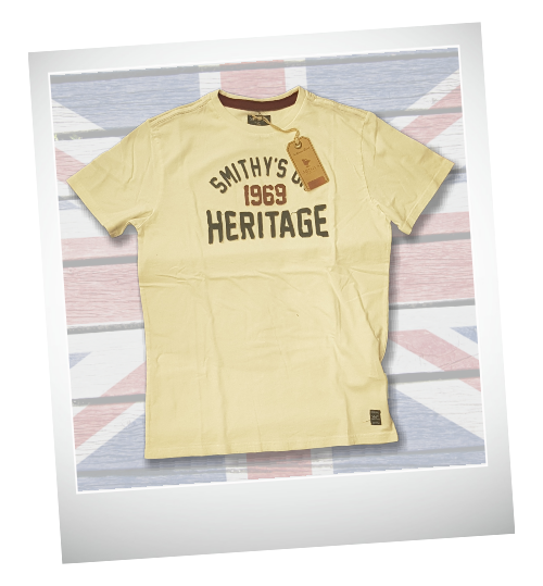 Smithy's spring summer 2019-heritage-white-tshirt