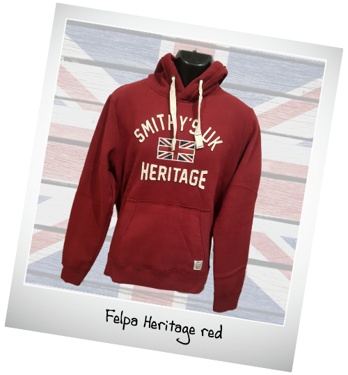 Smithy's autunno inverno 2019 Heritage-red
