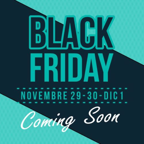 Black Friday e Black Weekend da BDM Genova cover