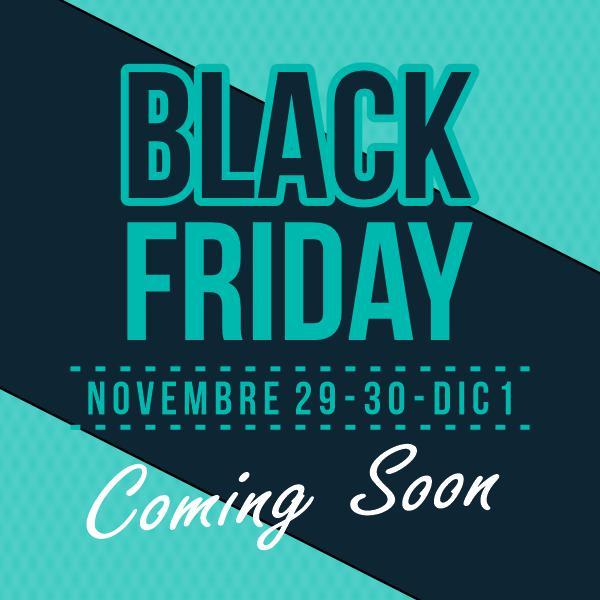 Black Friday e Black Weekend da BDM Genova cover